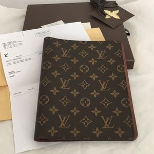 Authentic Louis Vuitton Desk Agenda cover